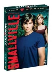 Smallville 6 Dvd 4ª Temporada Novo Lacrado