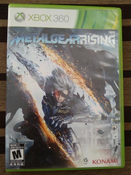 Jogo Metal Gear Rising: Revengeance Xbox 360