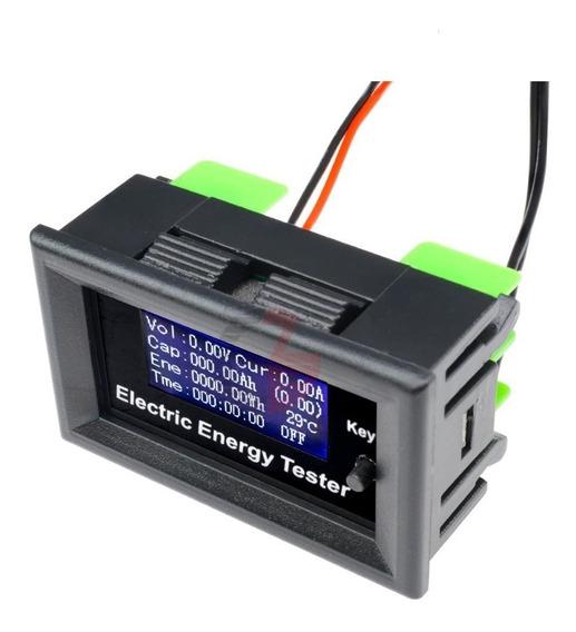 120v 20a Dc Digital Voltímetro Amperímetro Com Termômetro