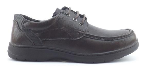 Zapatos Massimo Chiesa Grim Confor Acordonado Hombre Comodo