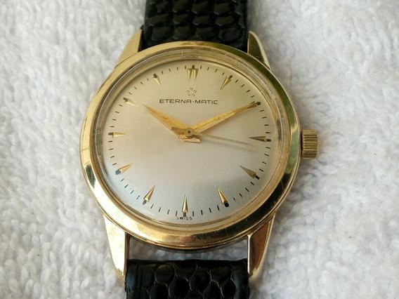 Reloj Eterna Matic De Oro De 14k. Automatico Original