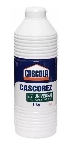 Adesivo Pva Cola Branca Cascorez Universal 1kg Emb. 21 Peças