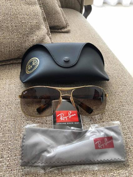 Óculos De Sol Ray-ban. Lente Marrom. Original.