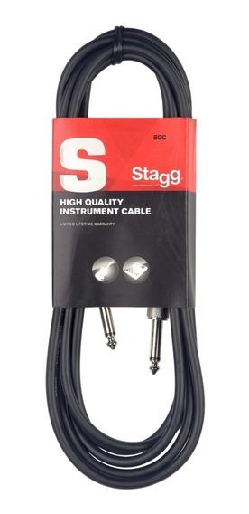 Cable Stagg Plug Plug De 3 Metros Sgc3