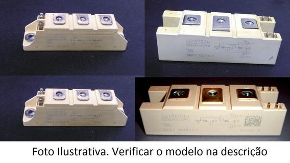 1 Pç Modulo Tiristor Skkh 72/18 - Usado E Testado - ( Skkh )