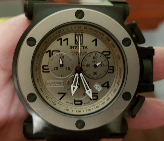 Relógio Invicta Quartz Jason Taylor Coalition Forces (14515)