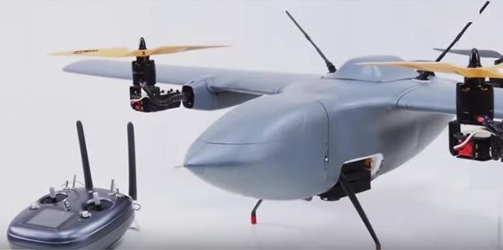 Vant Decola Como Drone Na Vertical Ppk Cam Sony Voa+d 1 Hora