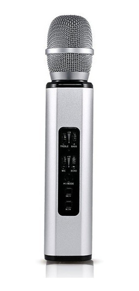 K6 Micrófono Inalámbrico Karaoke Altavoz De Mano Del Teléfon