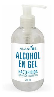 Alcohol Gel Alancos Bactericida Sin Acción Terapéutica 250ml