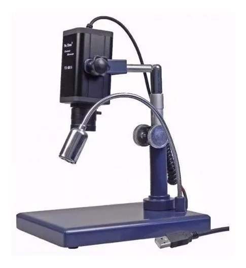 Microscópio Usb Digital 40x Profissional Yaxun Ak15