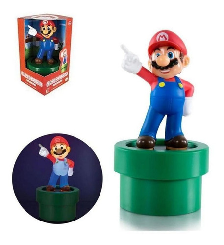 Imagem 1 de 1 de Luminaria Nintendo - Super Mario Bros
