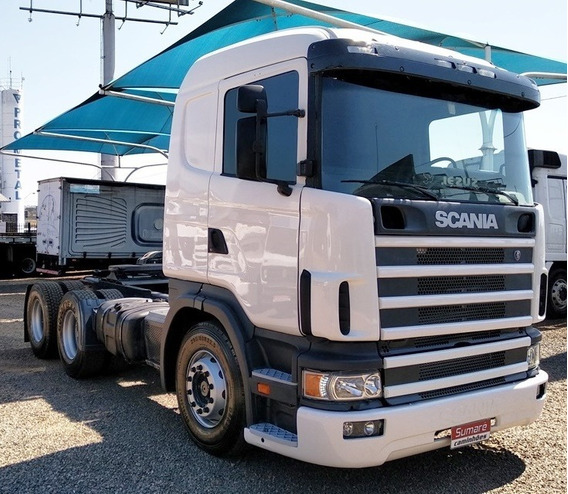 Scania R360 124 6x4 Canelinha