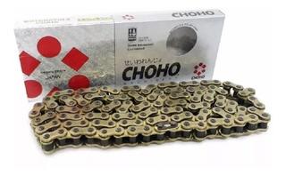 Cadena Reforzada Choho Dorada - 520h-118l - Certif. Japonesa
