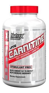 Lipo 6 Carnitine L-carnitina Nutrex 60 Cap Importado Termo