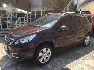 Peugeot 2008 1.6 16v Allure, Automático, 2016, Marrom