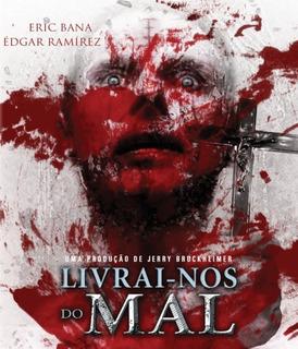 Blu-ray Livrai Nos Do Mal - Eric Bana - Novo Lacrado