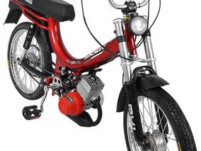 Bicicleta Motorizada Moby 2 Tempos 40cc - Vermelho
