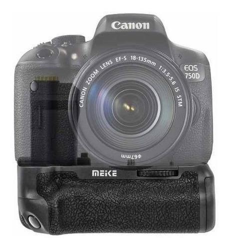 Battery Grip Meike Para Câmera Canon T6i (750d) E T6s (760d)