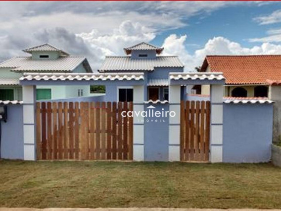 Casa Residencial À Venda, A Beira Da Praia De Barra Nova, Saquarema. - Ca1933
