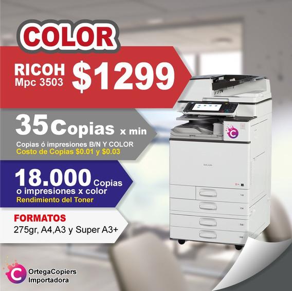 Copiadora Ricoh Mpc3503 Oferta Color