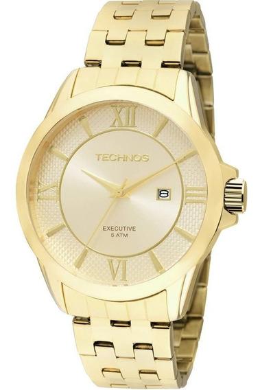 Relógio Technos 2115kos/4x Dourado Algarisno Original