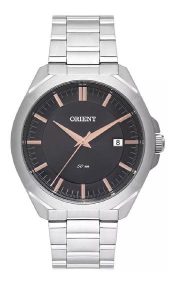 Relógio Orient Masculino Aço Original C/ Nf Mbss1350 G1sx