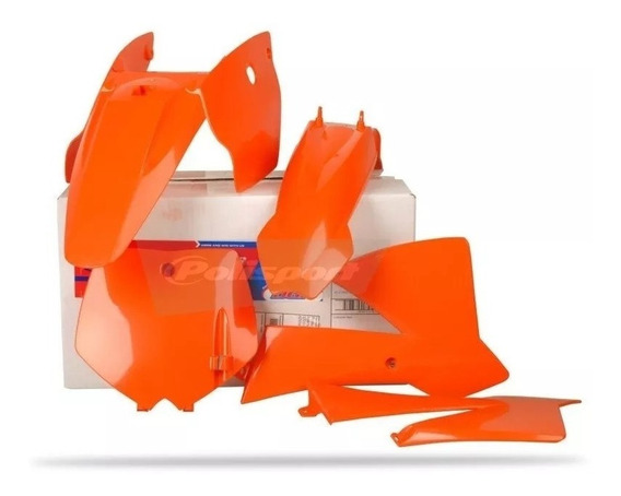 Kit Plastico Polisport Ktm 65 Sx 02-08 Laranja