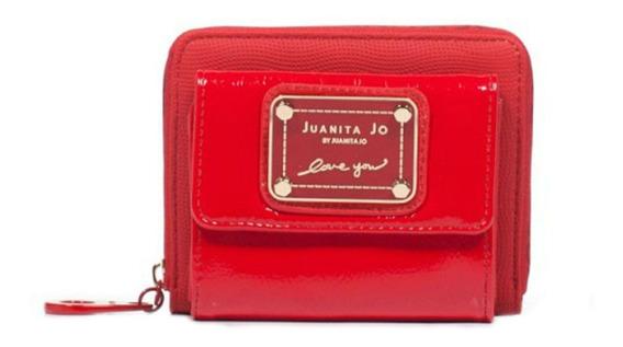 Billetera Juanita Jo Pocket roja