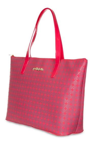Bolsa Original Grande Keeper Petite Jolie Pj4817 Vermelha