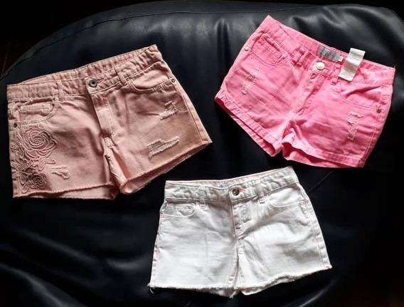 Oferta Shorts Zara Epk Y Old Navy T 11 -12 Y T 8