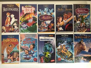 Películas En Vhs Originales De Disney Sin Uso.