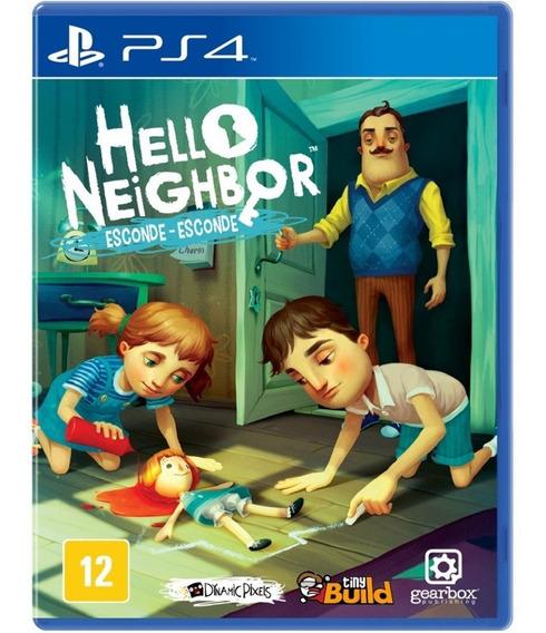 Game Hello Neighbor Esconde Ps4 Midia Fisica Novo Nacional