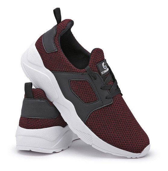 Tênis Sneaker Super Leve Calce Fácil Conforto Running 470