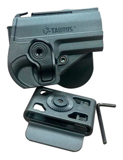 Kit Porta Carregador + Coldre Externo + Cinto Striker Taurus