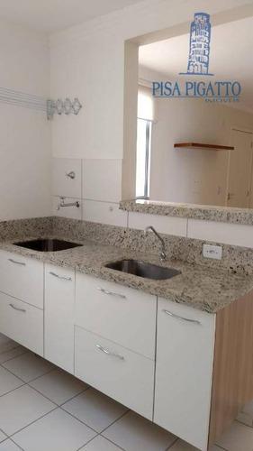 Apartamento À Venda, 49 M² Por R$ 210.000,00 - Vila Monte Alegre V - Paulínia/sp - Ap1021