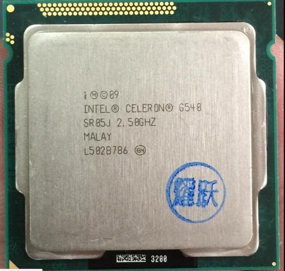 Cpu Intel Celeron G540 2.5ghz Segunda Geração Lga 1155 Usado