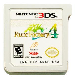 Rune Factory 4 - Nintendo 2ds & 3ds
