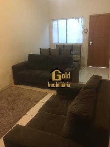 Casa Com 2 Dormitórios À Venda, 65 M² Por R$ 202.000,00 - Residencial Léo Gomes De Moraes - Ribeirão Preto/sp - Ca0898