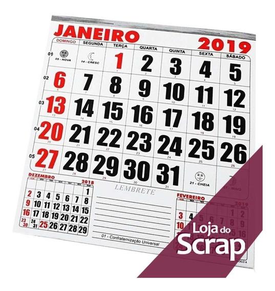 Calendario De 2020 Brasil.Refil De Calendario 2019 Arte Papelaria E Armarinho No