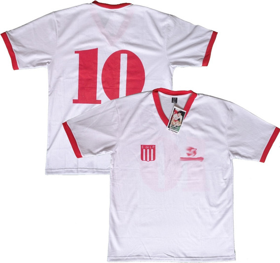 Camiseta Retro Estudiantes Lp 1983 Campeón #10 Sabella