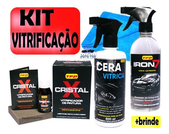 Kit Vitrificação Automotiva Completa Frete Gratis + Brinde