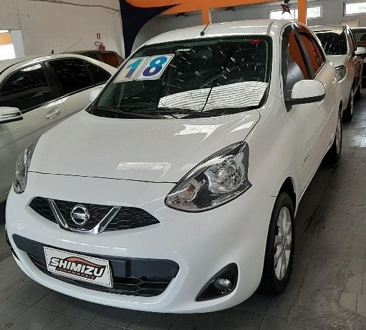 Nissan March 1.6 16v Sv Cvt (flex) Flex Automático