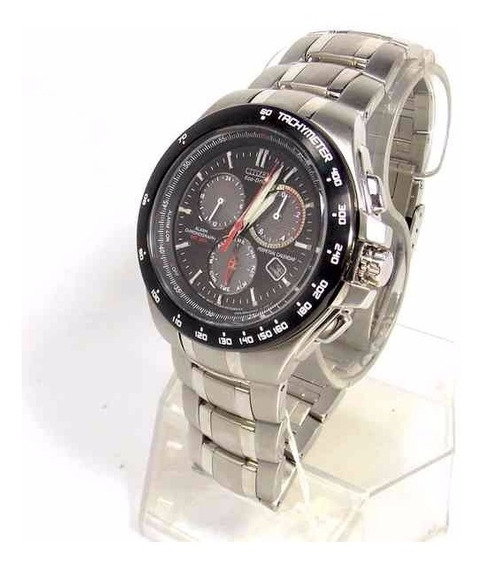 Relógio Citizen Ecodrive Calendário Crono Alarme Bl5334-55e