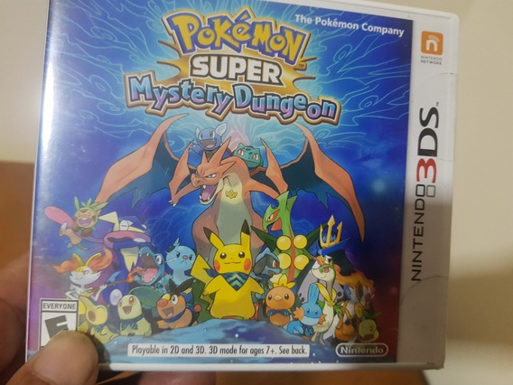 Pokemon Super Mystery Dungeon Lacrado Original Nintendo 3ds