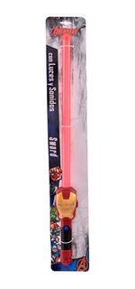 Espada Iron Man Con Luz Y Sonido Ditoys 2108a (1388)
