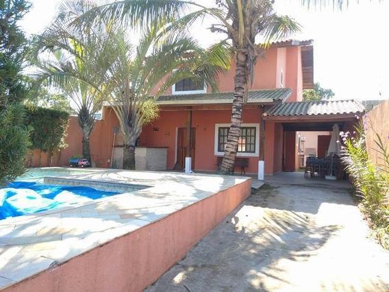 Casa Em Parque Balneário Oásis, Peruíbe/sp De 128m² 4 Quartos À Venda Por R$ 320.000,00 - Ca534166