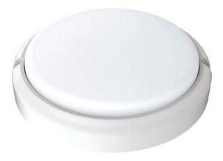 Aplique Led Pared Tortuga Exterior Circular 15w Blanco Negro