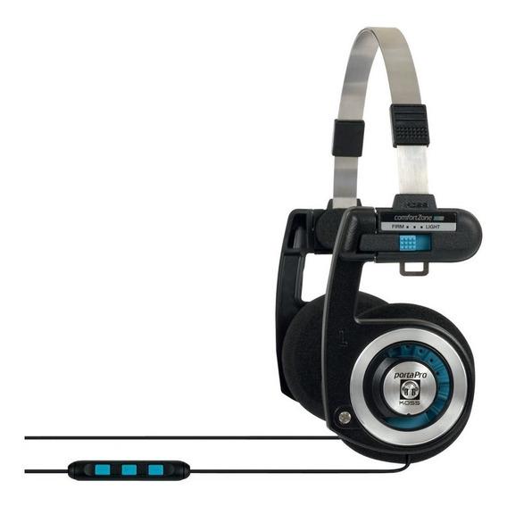 Headset Com Microfone Koss Porta Pro Ktc + Original + Nf