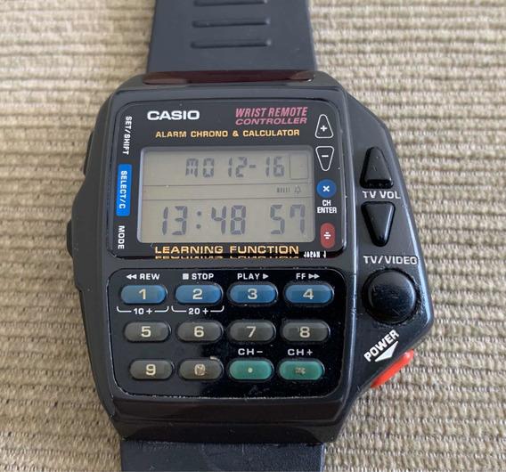 Relógio Casio Controle Remoto Cmd 40 Bem Conservado