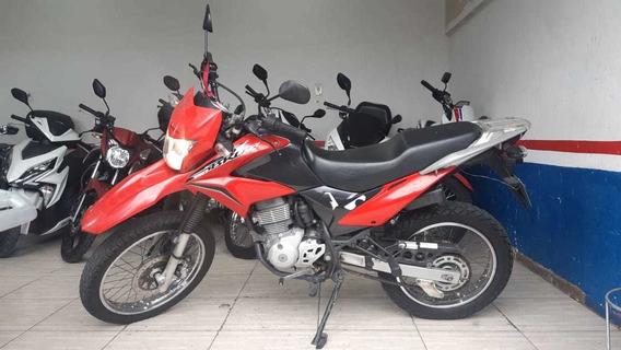 Honda Nxr 150 Bros Esd Mix 2013 Vermelha
